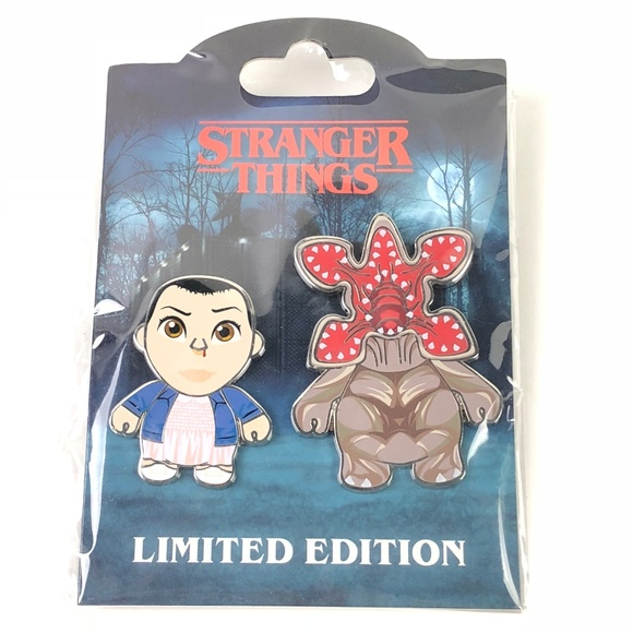 Universal Studios Jewelry - Stranger Things Halloween Horror Nights Pin Set